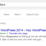 Google hiển thị những cái chung ta cần cho từ khóa missing